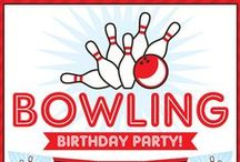 Bowling Party / Bowling party inspiration! • Blog posts: www.bitly.com/bowling_parties • Products: http://www.chickabug.com/shop-by-theme/bowling-party / by Chickabug