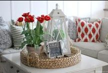 For the Home / Stylish and affordable ideas for decorating the home. / by Katie {Addicted 2 DIY}