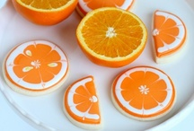 Orange Party / Orange party inspiration! • Products: http://www.chickabug.com/shop-by-theme/orange-party