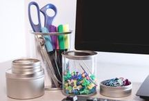 Cary Container Projects / Completed projects we made using our plastic bottles, metal containers, glass jars, and more.