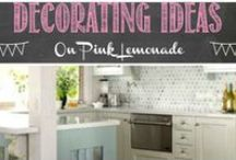 Decorating / Turn that dingy space into something wonderful!