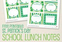 St. Patrick's Day / St. Patrick's Day party inspiration! • Products: http://www.chickabug.com/other-celebrations/st-patricks-day
