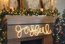 christmas / Christas decorating ideas / by Tami Barnes