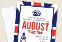 British or Union Jack Theme Party / British or Union Jack party inspiration! • Blog posts: www.bitly.com/british_union_jack_parties • Products: http://www.chickabug.com/shop-by-theme/union-jack-party/ / by Chickabug