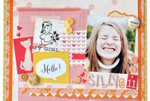 Scrapbooking / Scrapbook layouts that make you go oooooooh! Scrap booking design and papercraft ideas. Memory Keeping and Journalling Ideas. Pretty Scrapbooking Layouts. Baby Book Ideas