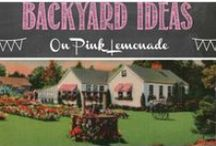Backyard Ideas / Fix up your backyard so it's ready for neighborly gatherings