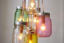 Mason Jar ideas / by Julia Dorris