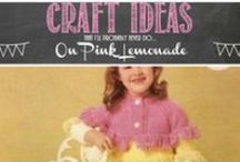 Crafts / A whole treasure trove full of crafting ideas to keep you busy