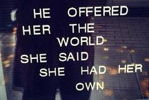 words / by Angela Sou