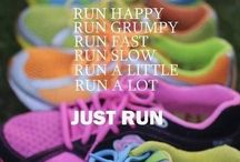 Running Motivation / Just got to flipping do it! Tips for running and getting fit. Inspiration and motivation to start running. Running training plans. Training schedules and tips and tricks for running.
