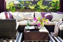 Backyard inspiration / Fun, creative, and awesome ideas to spruce up the backyard. / by Katie {Addicted 2 DIY}