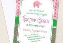 Lilly Pulitzer Inspired Party / Lilly Pulitzer party inspiration! • Products: http://www.chickabug.com/shop-by-theme/pink-elephant-party / by Chickabug