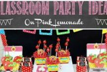 Classroom Party Ideas / Whether you're the Room Parent or just bringing goodies - here are some ideas that are sure to send you to the head of the class!