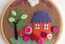 Embroidered Hoop Designs / Hoopla! Embroidery hoop inspiration!