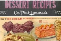 Dessert Recipes / Sweets for the sweet :-) <3 / by Pink Lemonade