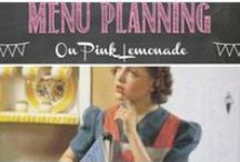 Meal Planning / Planning ahead makes meal time so much easier - here are some ideas to help...