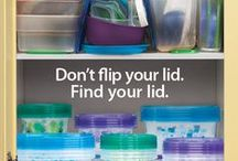 Declutter Your Kitchen / Tips to help keep your kitchen clean + organized! / by Glad