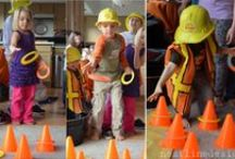 Digger Party Ideas! / Lots of ideas for a construction party! Finlay had a digger party at www.thimbleandtwig.com for his 3rd Birthday.