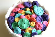 Lovely Buttons, buttons.... / Ideas for using up all my boxes of buttons. Button Crafts and Home decor ideas using buttons!