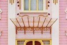 Like Wes Anderson / #movies #anderson #colors #inspiration