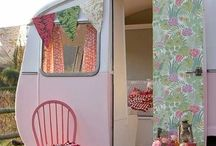 Caravans, Caravanning and Glamping / Glamping, caravanning and all things gypsy. Pretty escapes to ogle over.