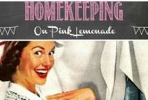 Homekeeping / Ideas to keep your home running smoothly...