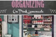 Organizing / An organized home is an easy to find things home...