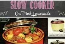 Slow Cooker / A slow cooker really is a cooks best friend - it does all the work for you!