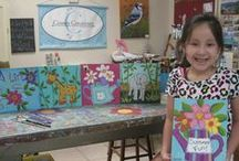 Art classes / Our Art Classes are a fun learning experience at a comfortable pace and step by step instruction! Morning and afternoon classes for children and adults. We encourage questions! 956 423-4933 / by Cossey Creations
