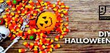 Thrift Halloween Decor & DIY / DIY, budget and second hand Halloween ideas!