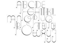 12   Au pied de la lettre. / Write. Wrote. Written #Typographie #fonts #police #typographie