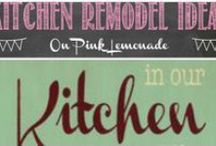 Ideas for Kitchen Remodel / I'm re-doing my kitchen in 2014 if it's the last thing I do... here are all my ideas :-)