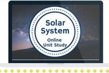 Astronomy Unit Study / Extended learning activities for the Solar System Online Unit Study.