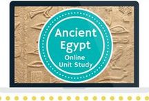 Ancient Egypt Online Unit Study / Extended learning activities for the Ancient Egypt Online Unit Study.