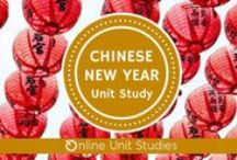 Chinese New Year Online Unit Study / Extended learning activities for Chinese New Year Online Unit Study.