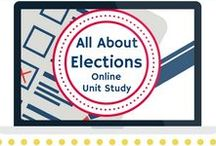 Elections Unit Study / Extended learning activities for All About Elections Online Unit Study.