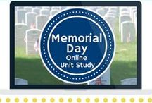 Memorial Day Unit Study / Extended learning activities for Memorial Day Online Unit Study.