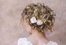 Curly Qs / Work with those curls and look beautiful on your Wedding Day!