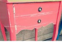 Cleaner Living: Refurbing / Refurbishing used furniture.
