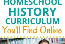 Online Social Studies Curriculum and Activities / Online activities, lesson plans, tips and ideas for homeschool history and geography.