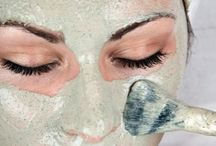hair tips, face mask, girls night in