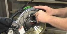 Hitachi Tools - YouTube Videos / Tool videos from Hitachi YouTube channel.  nailers, saws, drills, fasteners,  nails,  rotary hammers, stroke gas cut off saw, 18V brushless, lithium ion, demolitions hammers, etc. Learn more at http://hitachipowertools.com
