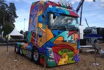 Mantorp Trucking festival 2013 / trucking festival och Nordic trofy