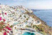 Santorini/Positano dreaming / Greek islands and Italy