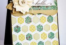 Hexagons / Ideeën met honingraatvormen