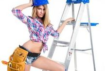 Handy Woman Theme / Handy Woman Theme photoshoot ideas