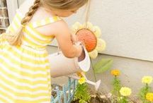 Gardening for Kids / Fun and unique ways to teach children about the wonders of gardening.