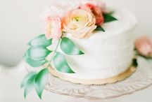 Wedding Cakes + Desserts / Wedding cakes and other sweet treats.