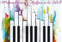Selección temática: Música Clásica en la Biblioteca / Promoviendo la Música Clásica en la BUH. ¡Acércate!  #exposicionesBUH