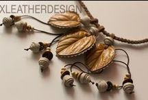 xleatherdesign / handmade, leather, ручная работа, изделия из кожи, бижуерия, аксессуары, авторская бижутерия, авторские аксессуары, эксклюзивные украшения